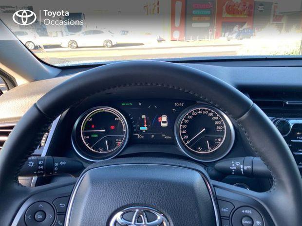 Photo miniature de la Toyota camry Hybride 218ch Design 2020 d'occasion