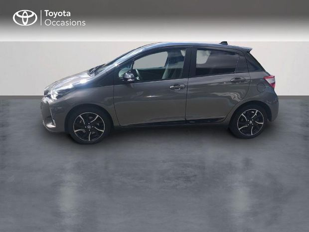 Photo miniature de la Toyota Yaris 110 VVT-i Collection 5p 2018 d'occasion