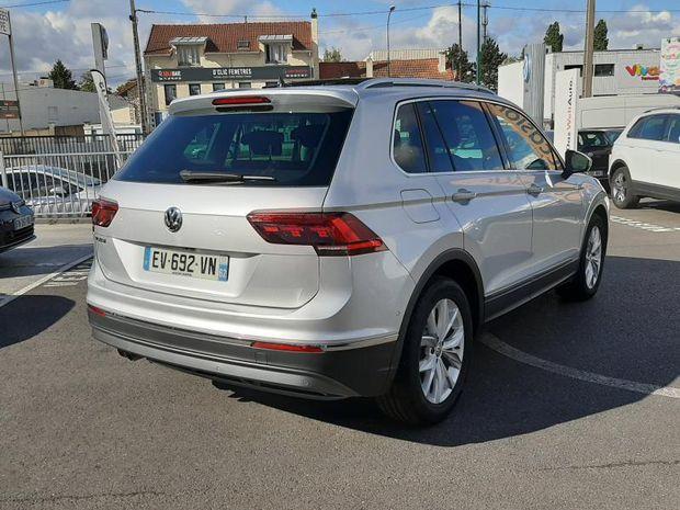 Photo miniature de la Volkswagen Tiguan 2.0 TDI 150ch Carat 2018 d'occasion