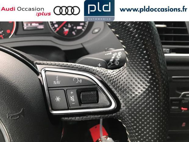 Photo miniature de la Audi Q3 2.0 TDI 150ch S line S tronic 7 2017 d'occasion