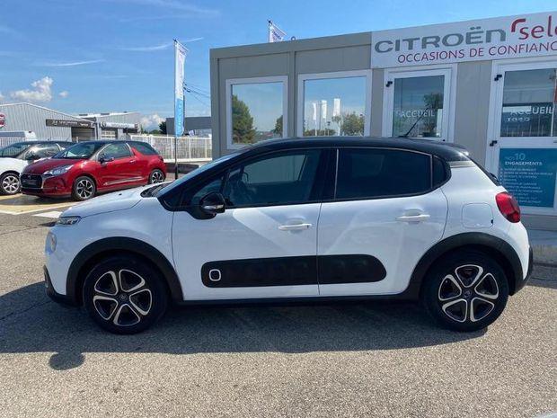 Photo miniature de la Citroën C3 PureTech 110ch Shine S&S EAT6 2018 d'occasion