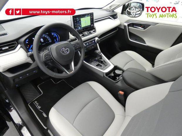 Photo miniature de la Toyota RAV4 Hybride 218ch Lounge 2WD MY20 2020 d'occasion
