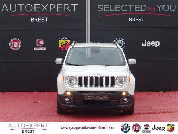 Photo miniature de la Jeep Renegade 1.6 MultiJet S&S 120ch Limited 2018 d'occasion
