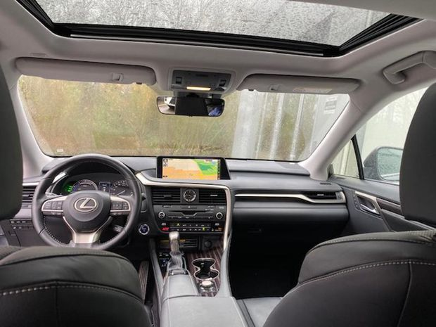 Photo miniature de la Lexus RX 450h L 4WD Executive 2018 d'occasion