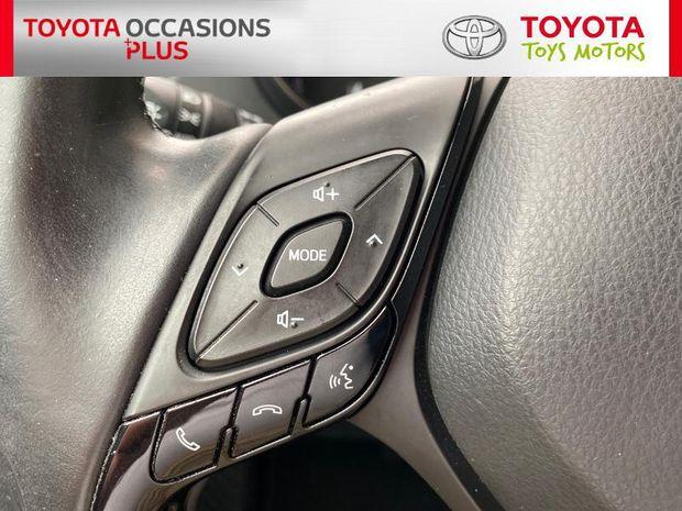 Photo miniature de la Toyota C-HR 1.2 T 116 Dynamic AWD CVT 2017 d'occasion