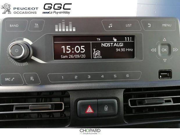 Photo miniature de la Peugeot Rifter 1.2 PureTech 110ch S&S Long Active 2020 d'occasion