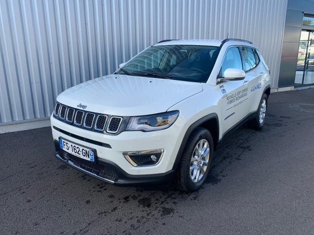 Photo miniature de la Jeep Compass 1.3 GSE T4 190ch Limited 4xe PHEV AT6 2020 d'occasion