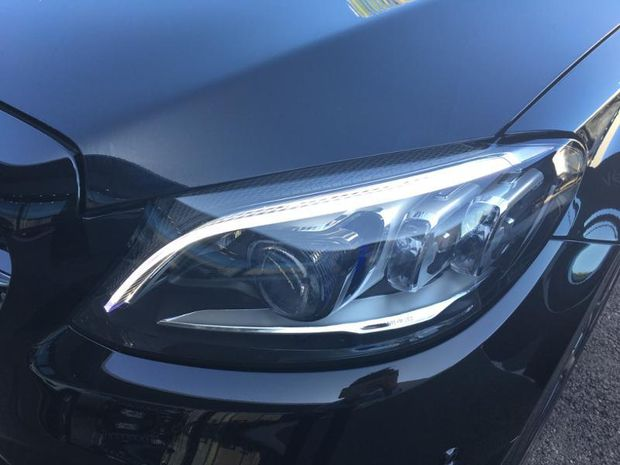 Photo miniature de la Mercedes Classe C Coupe 300 d 245ch AMG Line 4Matic 9G-Tronic Euro6d-T 2019 d'occasion