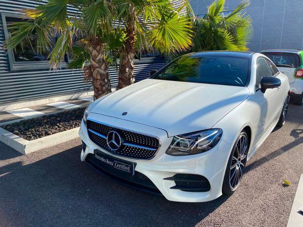Photo miniature de la Mercedes Classe E Coupe 200 184ch Fascination 9G-Tronic Euro6d-T 2019 d'occasion