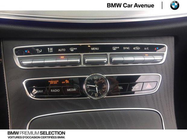 Photo miniature de la Mercedes Classe E Coupe 220 d 194ch Sportline 9G-Tronic 2018 d'occasion