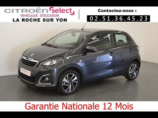 Photo miniature de la Peugeot 108 VTi 72 Allure S&S 85g 5p 2019 d'occasion