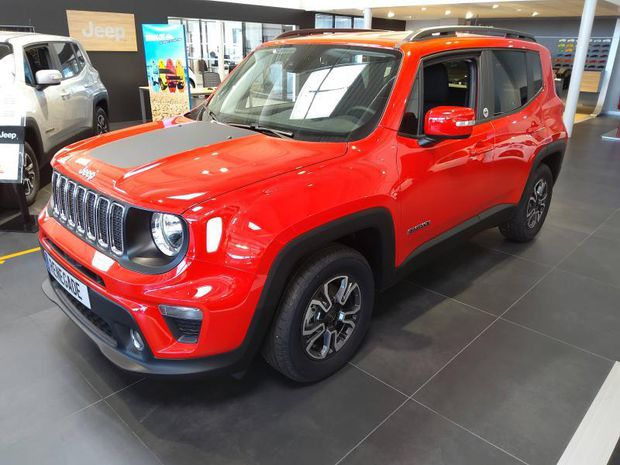 Photo miniature de la Jeep Renegade 1.6 MultiJet 120ch Quicksilver Winter Edition MY20 2020 d'occasion