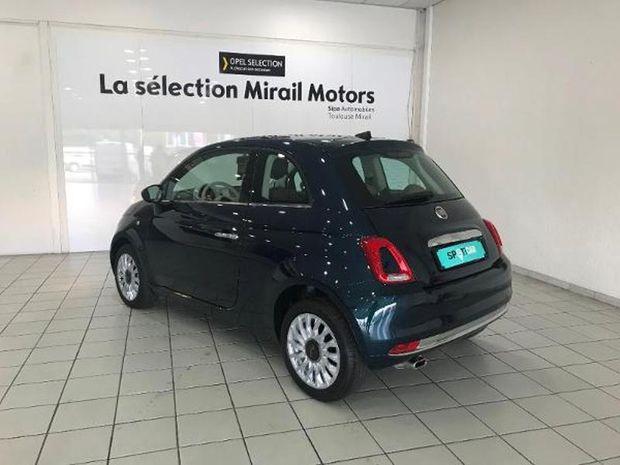 Photo miniature de la Fiat 500 1.2 8v 69ch Eco Pack Lounge 2019 d'occasion