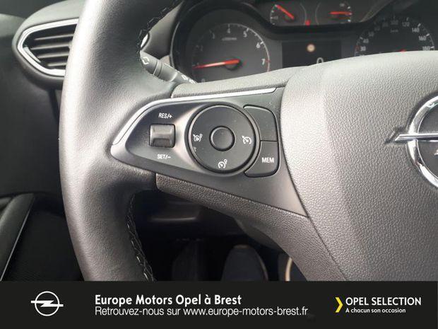 Photo miniature de la Opel Crossland X 1.2 Turbo 110ch Design 120 ans Euro 6d-T 2019 d'occasion