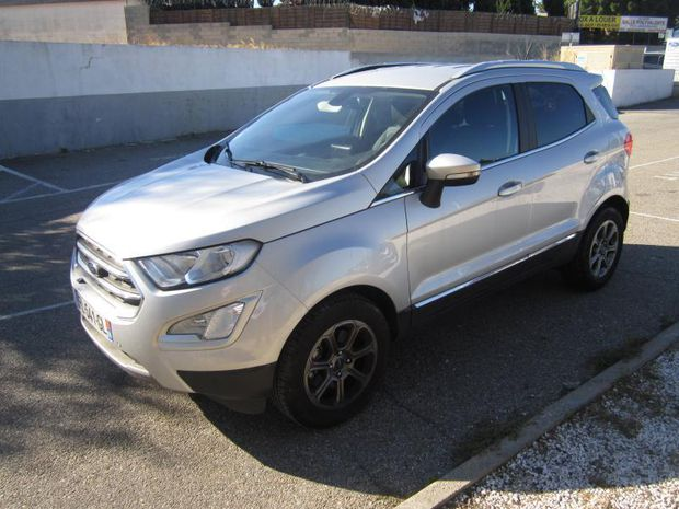 Photo miniature de la Ford EcoSport 1.0 EcoBoost 125ch Titanium Business Euro6.2 2019 d'occasion