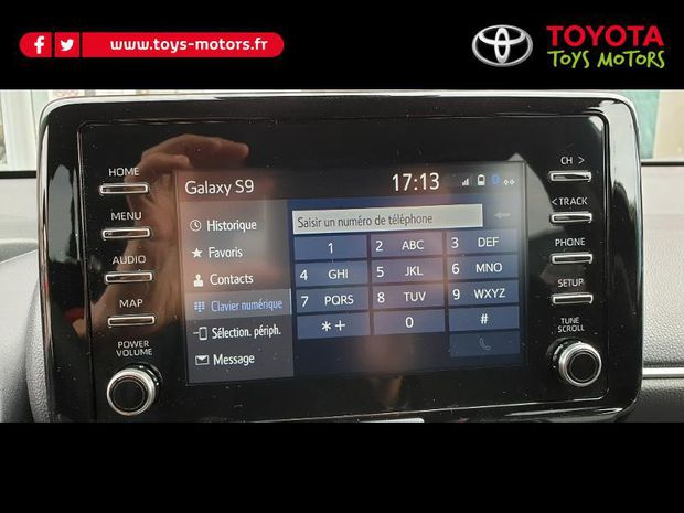 Photo miniature de la Toyota Yaris 120 VVT-i Design 5p 2020 d'occasion