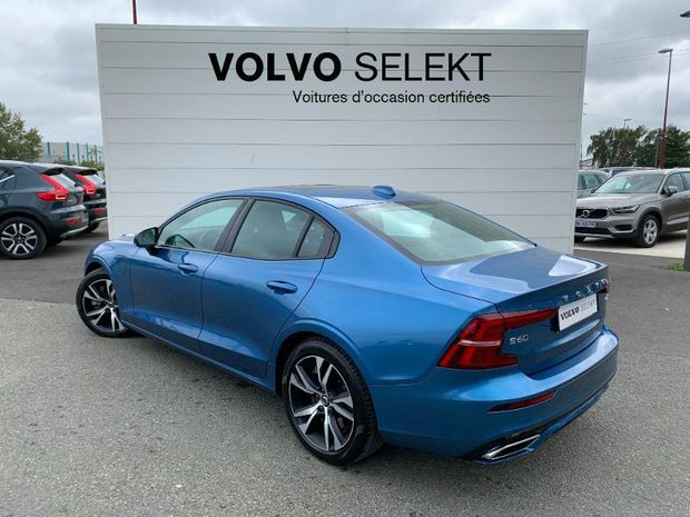 Photo miniature de la Volvo S60 T8 Twin Engine 303 + 87ch R-Design Geartronic 8 2019 d'occasion