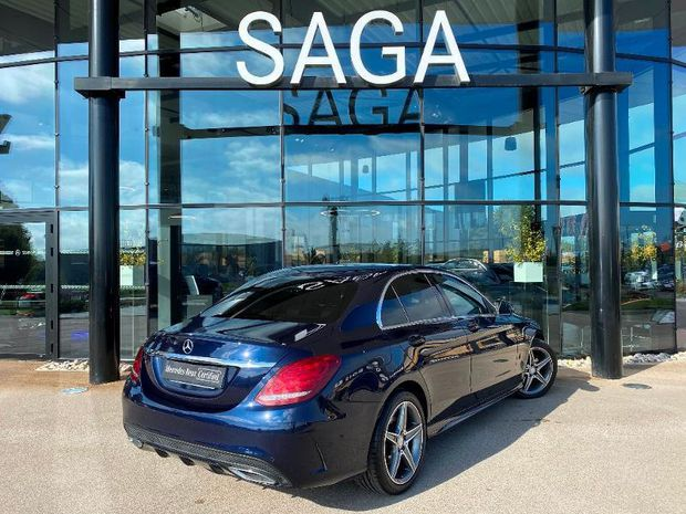 Photo miniature de la Mercedes Classe C 200 d 2.2 Sportline 7G-Tronic Plus 2016 d'occasion