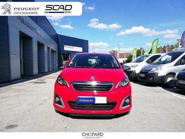 Photo miniature de la Peugeot 108 1.0 VTi Style 5p 2017 d'occasion
