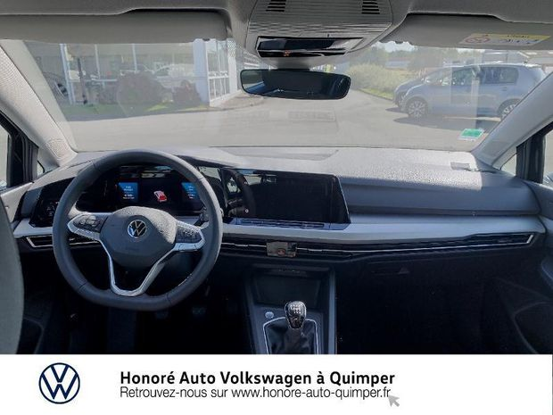 Photo miniature de la Volkswagen Golf 1.5 TSI ACT OPF 130ch Life 1st 2020 d'occasion