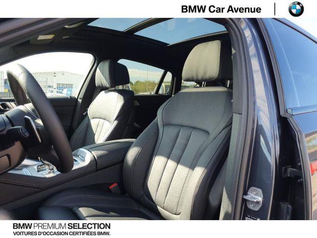Photo miniature de la BMW X6 M50dA 400ch 2020 d'occasion