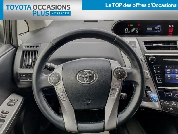 Photo miniature de la Toyota Prius + 136h SkyView 2016 d'occasion