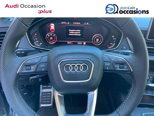Photo miniature de la Audi Q5 40 TDI 190 S tronic 7 Quattro 2019 d'occasion