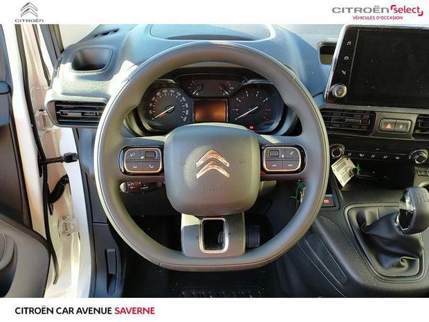 Photo miniature de la Citroën Berlingo Van M 650kg BlueHDi 100 S&S Driver 2020 d'occasion