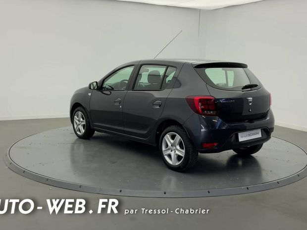 Photo miniature de la Dacia Sandero SCe 75 Lauréate 2018 d'occasion