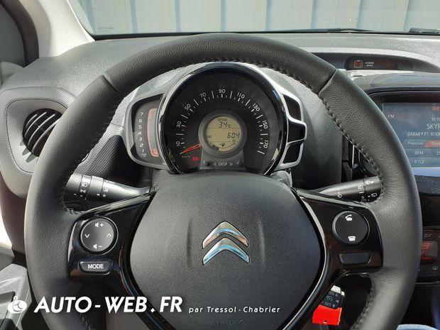 Photo miniature de la Citroën C1 VTi 72 S&S Shine 2019 d'occasion