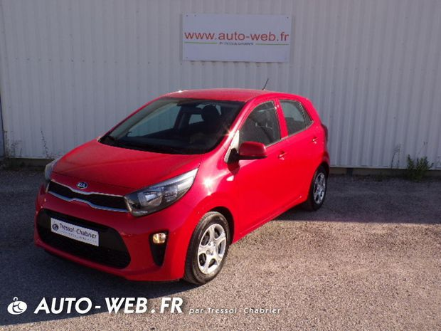 Photo miniature de la Kia Picanto 1.0 essence MPi 67 ch BVM5 Active 2019 d'occasion