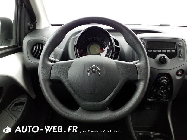Photo miniature de la Citroën C1 VTi 72 S&S Live 2020 d'occasion