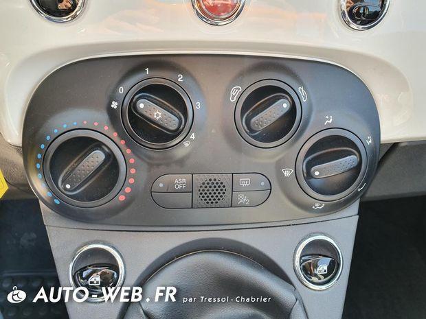 Photo miniature de la Fiat 500 1.2 69 ch Lounge 2017 d'occasion
