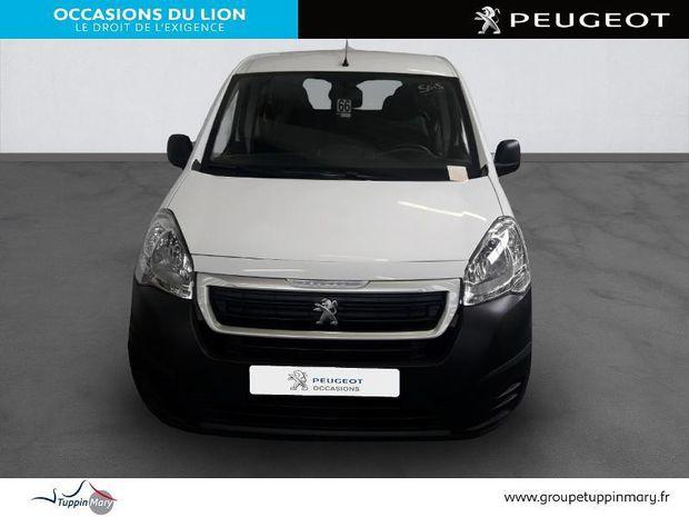 Photo miniature de la Peugeot Partner Long 1.6 BlueHDi 100ch Cabine Approfondie Pro 2018 d'occasion