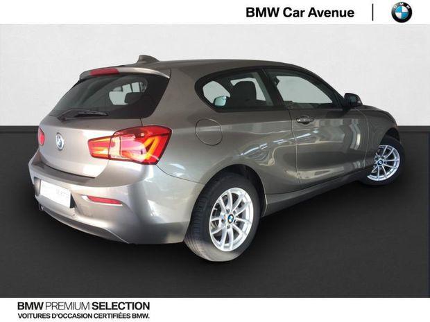 Photo miniature de la BMW Serie 1 Série 1 116i 109ch Premiere 3p 2017 d'occasion