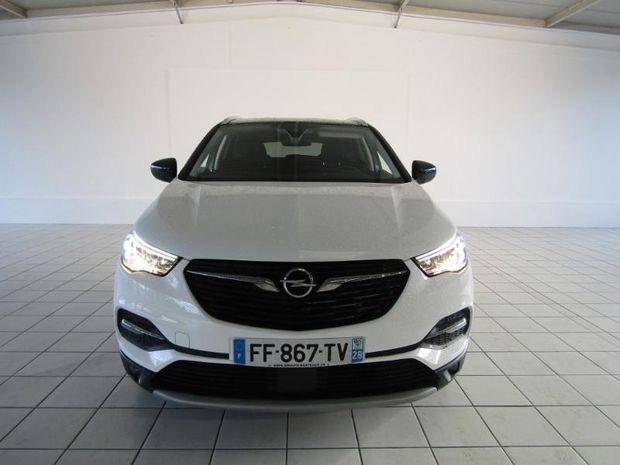 Photo miniature de la Opel Grandland X 1.2 Turbo 130ch ECOTEC Design Line 2019 d'occasion