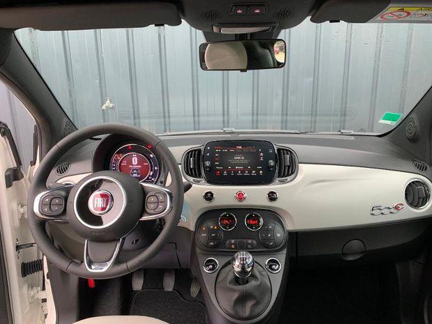 Photo miniature de la Fiat 500 C 1.0 70ch BSG S&S Star 2020 d'occasion