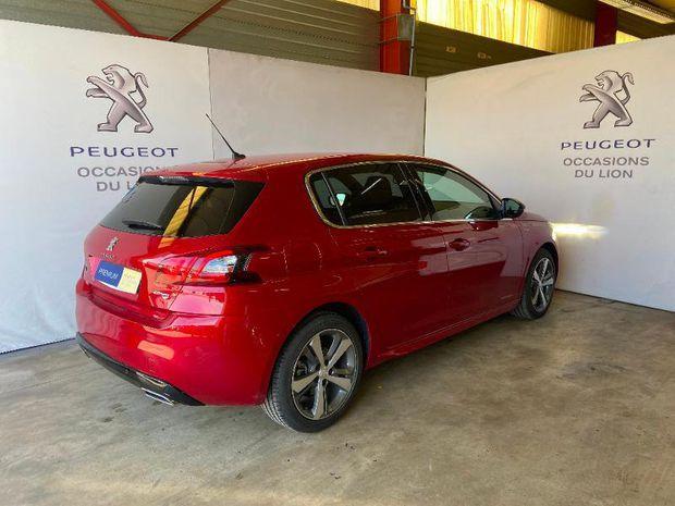 Photo miniature de la Peugeot 308 1.2 PureTech 130ch E6.3 S&S GT Line EAT8 2020 d'occasion