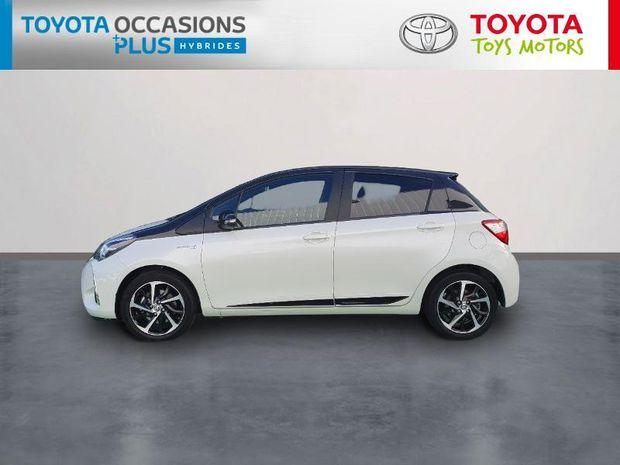 Photo miniature de la Toyota Yaris 100h Collection 5p RC19 2019 d'occasion