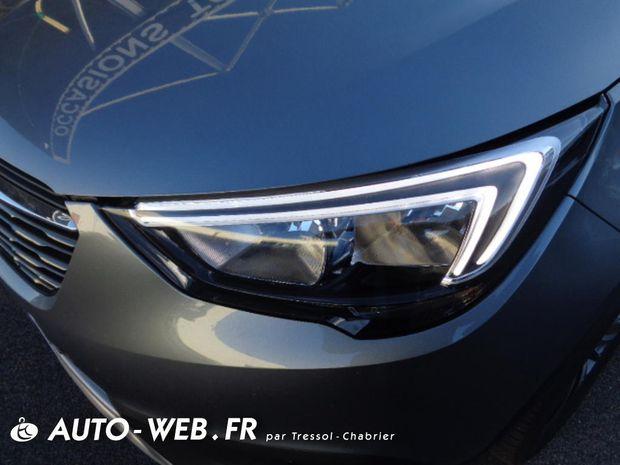 Photo miniature de la Opel Crossland X 1.2 Turbo 110 ch Design 120 ans 2019 d'occasion