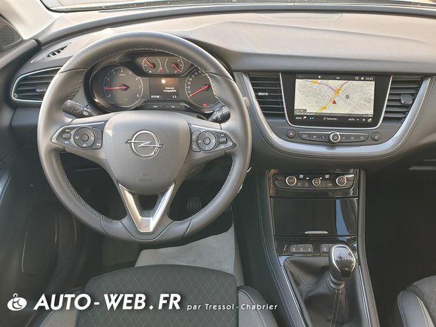 Photo miniature de la Opel Grandland X 1.2 Turbo 130 ch Design Line 2019 d'occasion