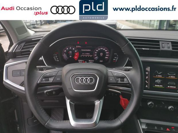 Photo miniature de la Audi Q3 35 TFSI 150ch Design S tronic 7 2019 d'occasion