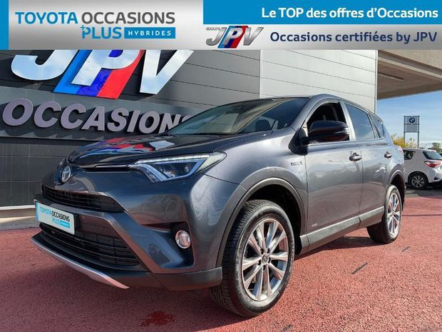 Photo miniature de la Toyota RAV4 197 Hybride Dynamic Edition 2WD CVT 2018 d'occasion