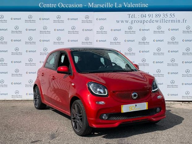 Photo miniature de la Smart forfour 90ch passion twinamic E6c 2019 d'occasion