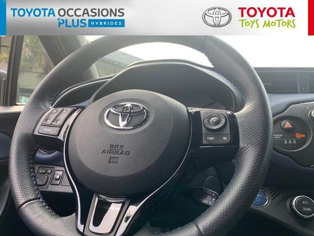 Photo miniature de la Toyota Yaris 100h Collection 5p 2018 d'occasion