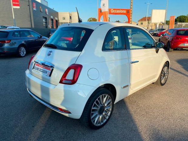 Photo miniature de la Fiat 500 1.2 8v 69ch Lounge 2018 d'occasion