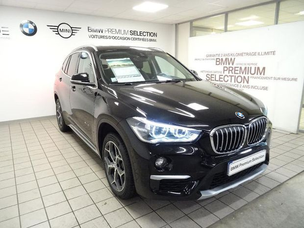 Photo miniature de la BMW X1 xDrive18dA 150ch xLine 2017 d'occasion