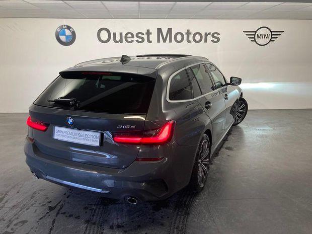 Photo miniature de la BMW Serie 3 Touring 318dA 150ch M Sport 2020 d'occasion