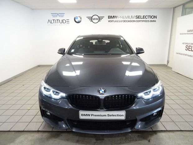 Photo miniature de la BMW Serie 4 Gran Coupe 418dA 150ch M Sport 2019 d'occasion
