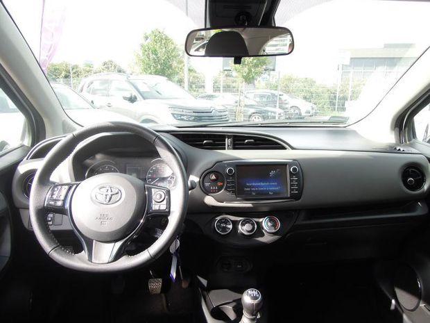 Photo miniature de la Toyota Yaris 110 VVT-i Design 5p 2019 d'occasion